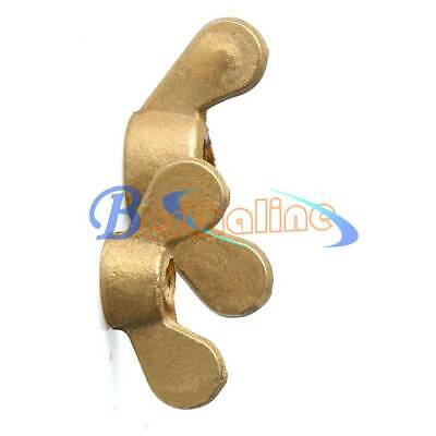M4 M5 M6 Solid Brass Wing Nut wingnut butterfly thumb copper nuts