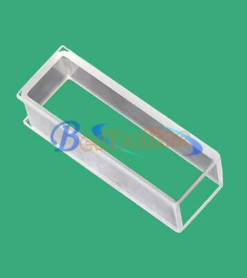 1,2pcs 751 Optical glass cuvette, light path 10mm,volume 3.5ml new