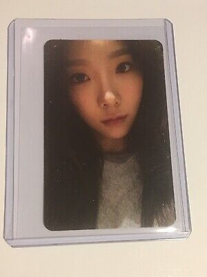 SNSD TAEYEON MY VOICE Official Photocard Card Kpop K-pop GIRLS GENERATION