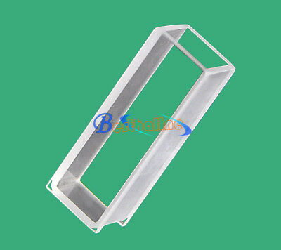 NEW 5,10pcs 751 Optical glass cuvette, light path 10mm,volume 3.5ml
