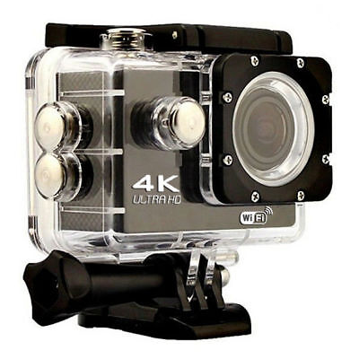 Hot!!! 4K WIFI Sports Action Camera Ultra HD Waterproof DV Camera 16MP US Black