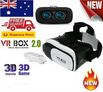 VR Headset VR BOX Virtual Reality Glasses 3D for Android IOS Smartphones Remote