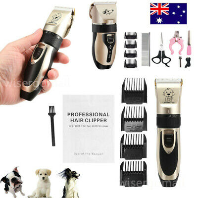 Dog Grooming Clippers Cordless Quiet Electric Pet Hair Clippers Trimmer Kit Pro