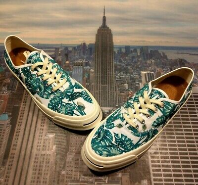 8cd2f31bbc42 Converse Jack Purcell Signature CVO Ox Low Top Palm Tree Size 10 153150c New