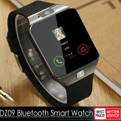 Promotion!DZ09 Bluetooth Smart Watch For HTC Samsung Android Phone+Camera SIM US