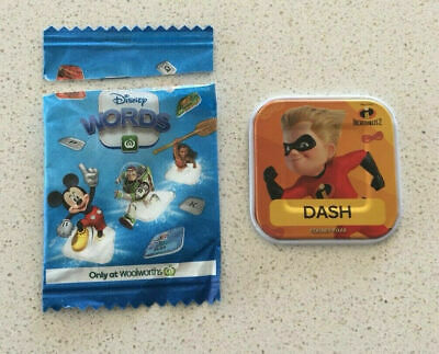 Woolworths Disney Word Tile DASH - The Letter D Piece