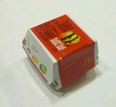 Coles Little shop Minis McDonald's very RARE BIG MAC