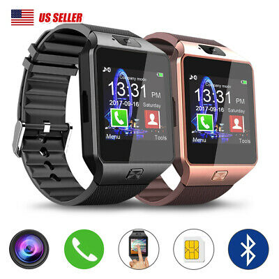 Bluetooth Smart Watch SIM Camera Phone Mate For Android Samsung HTC iPhone&Man's