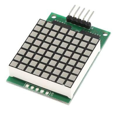 8x 8 Square Matrix Red LED Display Dot Module with Input and Output Interfaces