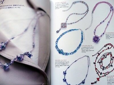Japanese Handmade Bead Jewellery Making Illustrated Instruction Book Costume 2
