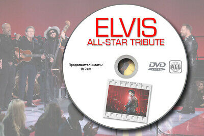 Elvis Presley All-Star Tribute 2019 Promo DVD Legend Sheeran Lopez Rare Acetate