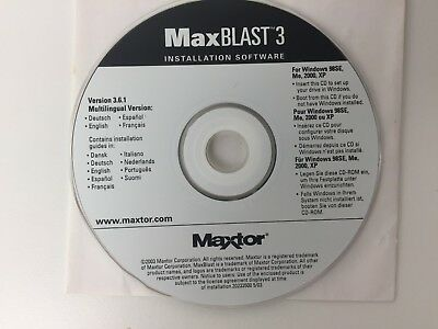 MAXBLAST PLUS 3 3.6 WINDOWS XP DRIVER