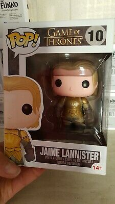 Funko Pop Jaime Lannister Game of thrones 10  nuovo trono di spade Raro