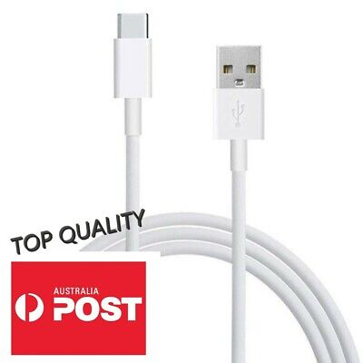 FAST CHARGING Android Charger Type C USB Cable Premium Braided  S8 S9 Note 9