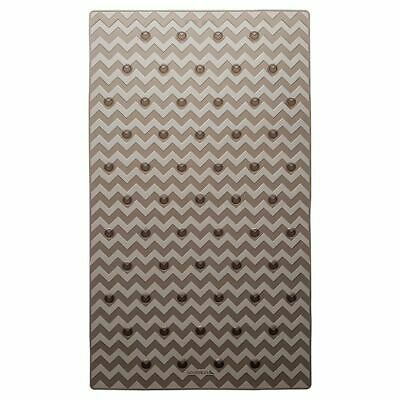 Sealskin Alfombrilla de Seguridad Baño Leisure 40x70 cm de Color Gris 315244614