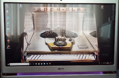"acer 23"" Touchscreen  4 ram 500 gig drive i3 550 pc/tv/video jukebox A9"