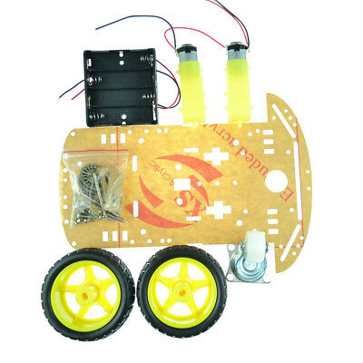 NEW 2WD Smart Robot Car Chassis Kit/Speed Encoder Battery Box Arduino 2 Motor