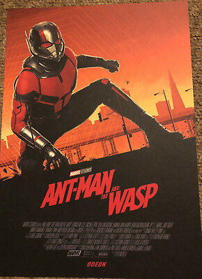 Marvel Ant-Man and the Wasp Original Odeon Exclusive Promo Poster