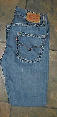 Levis ~ Mens ~ Boys ~569 Loose Straight Jeans ~ Size 14 Slim 25 X 27 ~ Nice!!