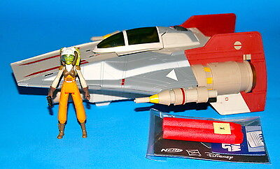 Star Wars A-Wing & Hera Disney Rebels Loose Complete