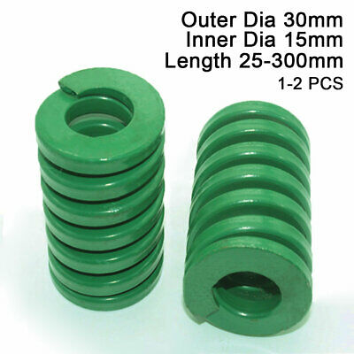 30mm OD Green Heavy Duty Compression Stamping Mould Die Spring 15mm ID All Sizes