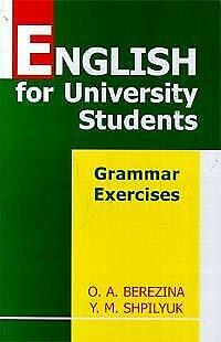 English For University Students. Grammar Exercises