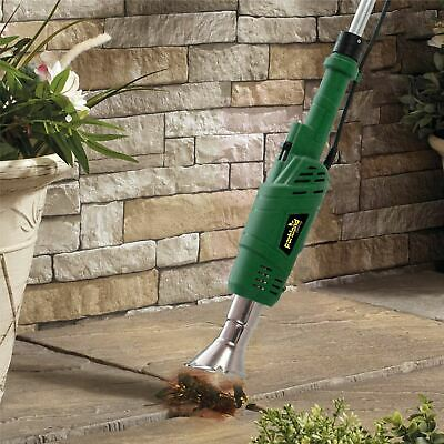 2000W Electric Weed Burner Killer Wand Hot Air Blaster Torch 600°c 2kw