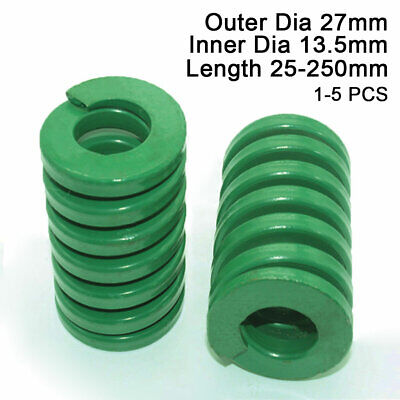 27mm OD Green Heavy Duty Compression Stamping Mould Die Spring 13.5mm ID All DIY