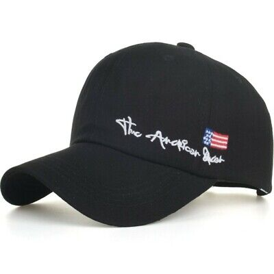 Baseball Cap Spring Fashion Leisure Style Embroidery American Cotton Snapback