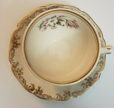 Johnson Bros, Sovereign Potters, Tea Cup, Windsor, Decorated In Canada, (SVPWIN)