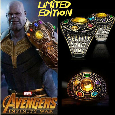 032efacce7eec INFINITY WAR GAUNTLET Class of Infinity Power Ring Thanos - Marvel  Avengers-New