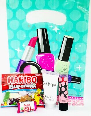 Girls Pre Filled Pamper Party Bags, Older Girls/Sleepover Birthday Party Bags.