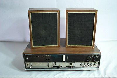 Soundesign 8 Track Player w/ Speakers Model 4492
