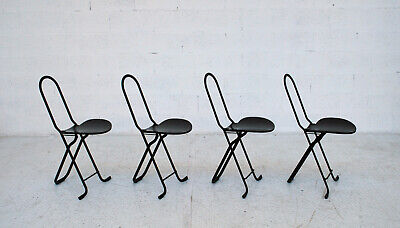 set of 4 Dafne chairs by Gastone Rinaldi for Thema 70s