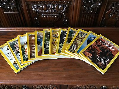 NATIONAL GEOGRAPHIC  1977 year 12 issues - complete