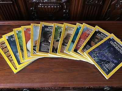 NATIONAL GEOGRAPHIC  1975 year 12 issues - complete