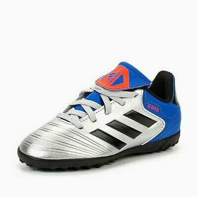 84cbe86b0 BOYS SOCCER SHOES Adidas Copa Tango 18.4 Youth Turf Shoes NEW ...