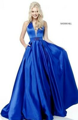 Sherri Hill Style 51729 Turqouiose size 10 Prom Pageant NEW WITH TAGS!