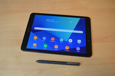 Tablet - Samsung Galaxy Tab S3 LTE SM-T825 (WiFi+4G/32GB/Black/9,7Zoll) in OVP