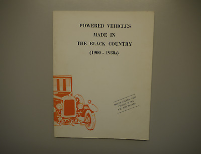 Powered vehicles made in the Black Country / Jim Boulton / 1st Edition 1976