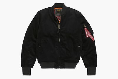 Alpha Industries Corduroy MA-1 Fighter Black Parka