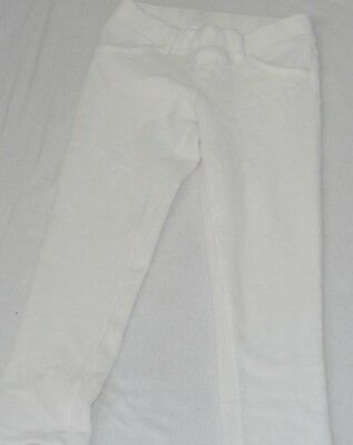 Jumping Beans Girls white Sweat Pants Elastic Waist legging toddler  Kids Size 5