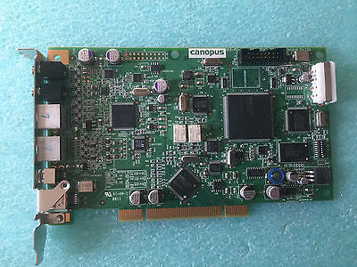 CANOPUS U13-PC-211 Analog-to-Converter PCI Card Digital Video Editing