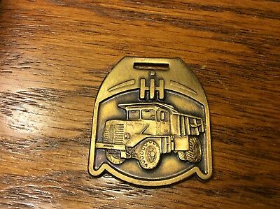 Vintage IH International Harvester Truck Watch Key Fob (IS-581)