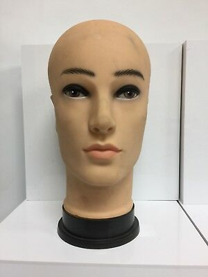 UNBRANDED Mannequin Head Balk Cosmetology Wigs Hats Makeup No Hair