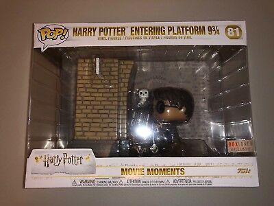 Funko Pop Movie Moments Harry Potter Platform 9 3/4 BOXLUNCH EXCLUSIVE NEW RARE