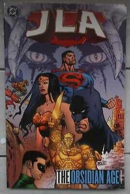 Dc Graphic Novel. Justice League Of America The Obsidian Age.