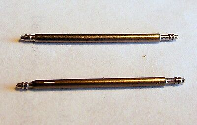 3 WATCH BAND SPRING BAR PINS  8 mm TO 37 mm