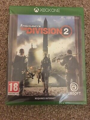 Tom Clancy's The Division 2?For Xbox One - Brand New And Sealed
