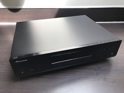 PIONEER BDP-160 3D BLACK WiFi Multi Region Free (DVD 1-8) Blu-Ray